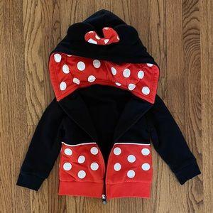 Disney Cubcoats Minnie Mouse Zip-Up Hoodie